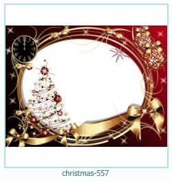 Marco de la foto de la navidad 557