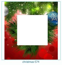 Karácsonyi képkeret 574