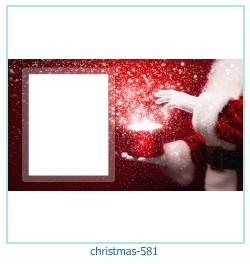 Karácsonyi képkeret 581