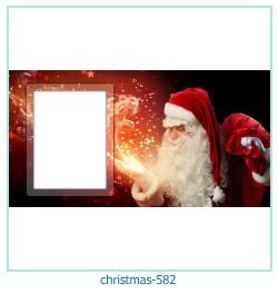 Karácsonyi képkeret 582