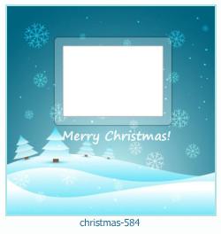 Karácsonyi képkeret 584