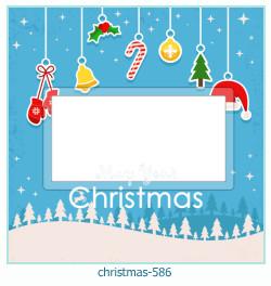 Karácsonyi képkeret 586