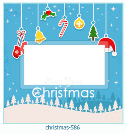क्रिसमस फोटो फ्रेम 586
