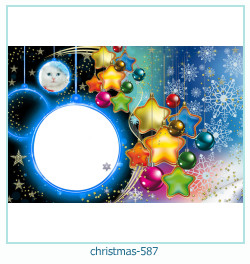क्रिसमस फोटो फ्रेम 587