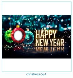 Karácsonyi képkeret 594