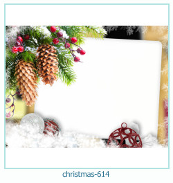 क्रिसमस फोटो फ्रेम 614