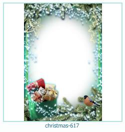 Marco de la foto de la navidad 617