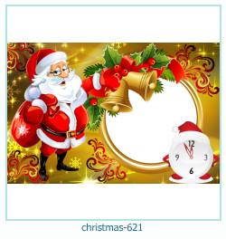 Marco de la foto de la navidad 621