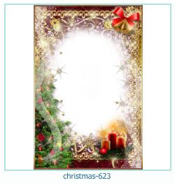 Marco de la foto de la navidad 623