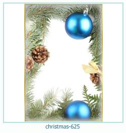 Marco de la foto de la navidad 625