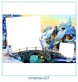 Marco de la foto de la navidad 627