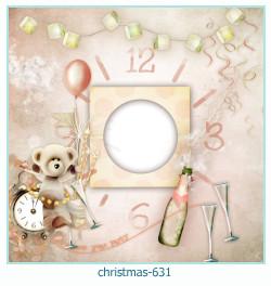 Marco de la foto de la navidad 631