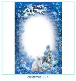 Marco de la foto de la navidad 632