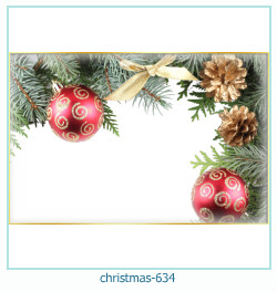 Marco de la foto de la navidad 634