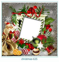क्रिसमस फोटो फ्रेम 635