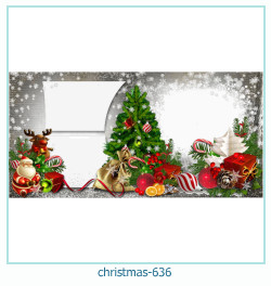 Marco de la foto de la navidad 636