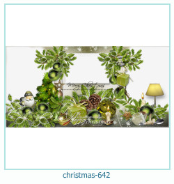 christmas Photo frame 642