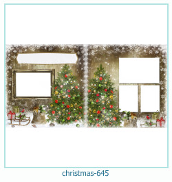 christmas Photo frame 645