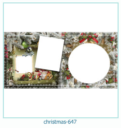 क्रिसमस फोटो फ्रेम 647