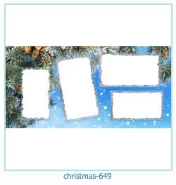 Marco de la foto de la navidad 649