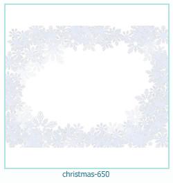 Marco de la foto de la navidad 650