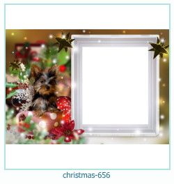 क्रिसमस फोटो फ्रेम 656