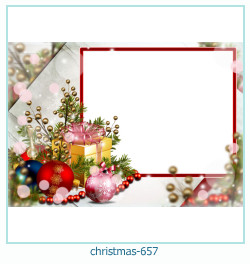 क्रिसमस फोटो फ्रेम 657
