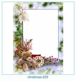Marco de la foto de la navidad 659