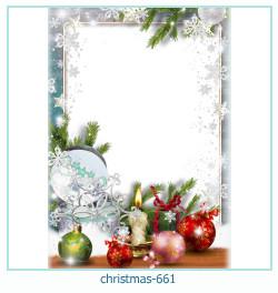 Marco de la foto de la navidad 661
