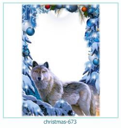 क्रिसमस फोटो फ्रेम 673