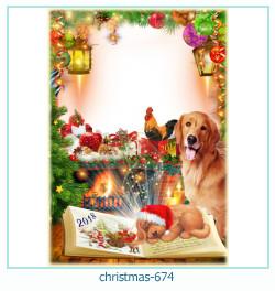 क्रिसमस फोटो फ्रेम 674