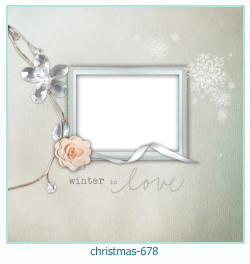 christmas Photo frame 678