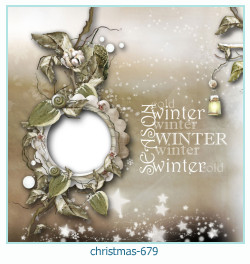 christmas Photo frame 679