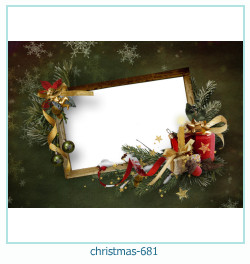 क्रिसमस फोटो फ्रेम 681