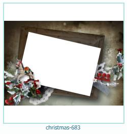 Marco de la foto de la navidad 683