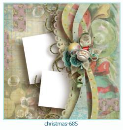 क्रिसमस फोटो फ्रेम 685