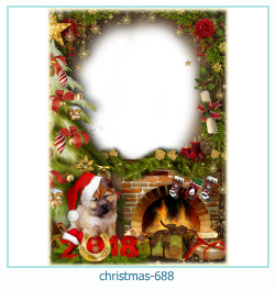 क्रिसमस फोटो फ्रेम 688