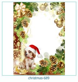 क्रिसमस फोटो फ्रेम 689