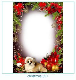 Marco de la foto de la navidad 691