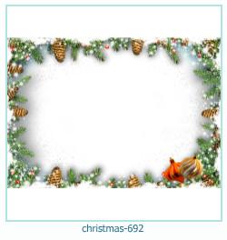 Karácsonyi képkeret 692
