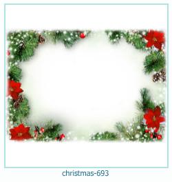 Marco de la foto de la navidad 693