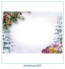 Marco de la foto de la navidad 694