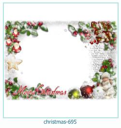क्रिसमस फोटो फ्रेम 695