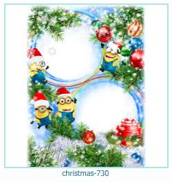 Marco de la foto de la navidad 730