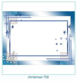 クリスマスフォトフレーム758