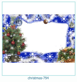 новогодняя Рамка для фото 794