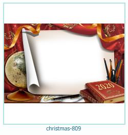 новогодняя Рамка для фото 809
