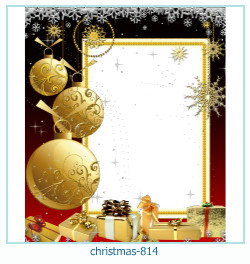 क्रिसमस फोटो फ्रेम 814