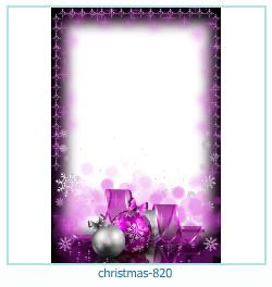 новогодняя Рамка для фото 819