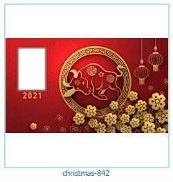 christmas Photo frame 842